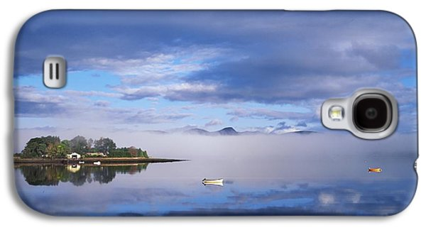 Boats In Reflecting Water Galaxy S4 Cases - Dinish Island, Kenmare Bay, County Galaxy S4 Case by The Irish Image Collection