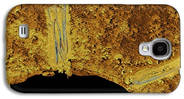 Sink Hole Galaxy S4 Cases - Dirty Plughole Galaxy S4 Case by Volker Steger