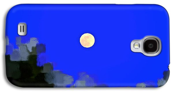 Man In The Moon Galaxy S4 Cases - Distortion Galaxy S4 Case by Gwyn Newcombe