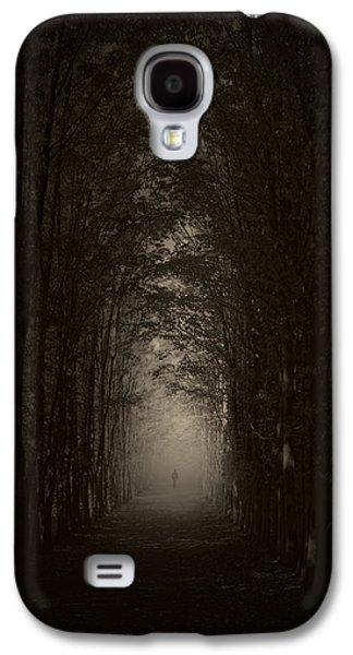 Haunted Digital Art Galaxy S4 Cases - Disturbing Beauty Galaxy S4 Case by Lourry Legarde