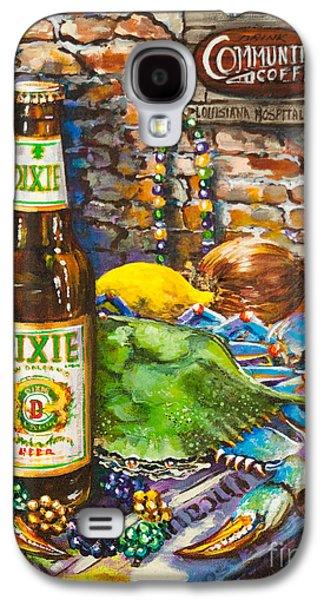 Still Life Paintings Galaxy S4 Cases - Dixie Love Galaxy S4 Case by Dianne Parks