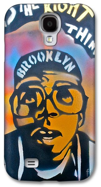 Discrimination Paintings Galaxy S4 Cases - Do The Right Thing Galaxy S4 Case by Tony B Conscious