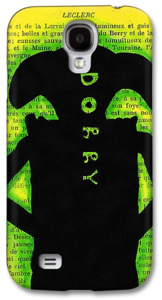 Slaves Drawings Galaxy S4 Cases - Dobby Silhouette Galaxy S4 Case by Jera Sky