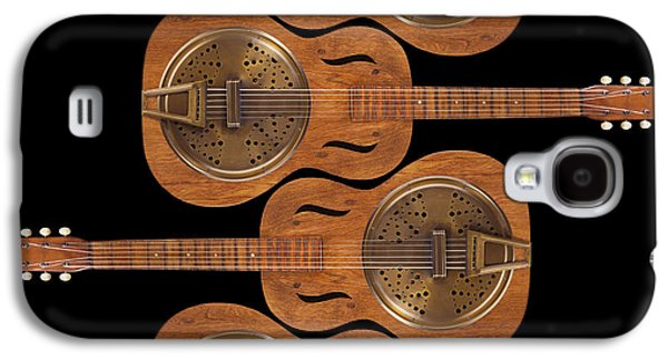 Hand Made Galaxy S4 Cases - Dobro 5 Galaxy S4 Case by Mike McGlothlen