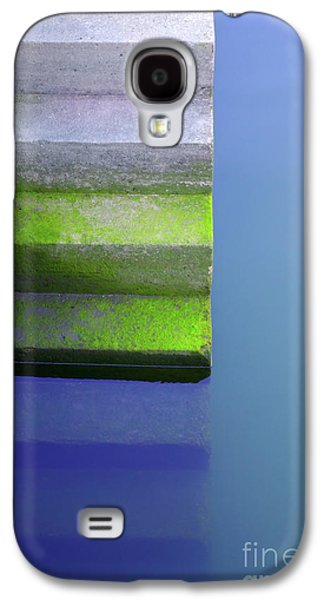 Nature Abstracts Galaxy S4 Cases - Dock Stairs Galaxy S4 Case by Carlos Caetano