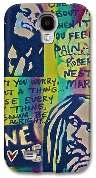 Moral Paintings Galaxy S4 Cases - Dont You Worry Galaxy S4 Case by Tony B Conscious