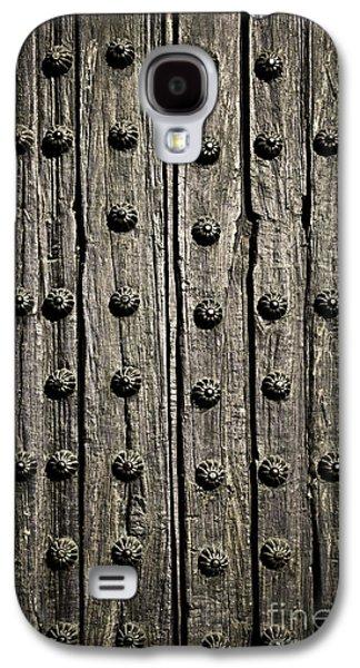 Grid Photographs Galaxy S4 Cases - Door detail Galaxy S4 Case by Elena Elisseeva