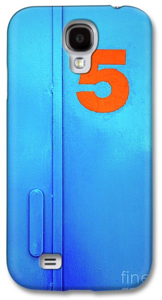 Blue Galaxy S4 Cases - Door Five Galaxy S4 Case by Carlos Caetano