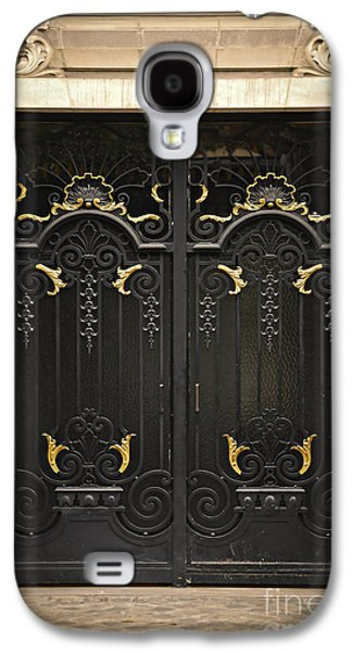 Relief Sculpture Galaxy S4 Cases - Doors Galaxy S4 Case by Elena Elisseeva
