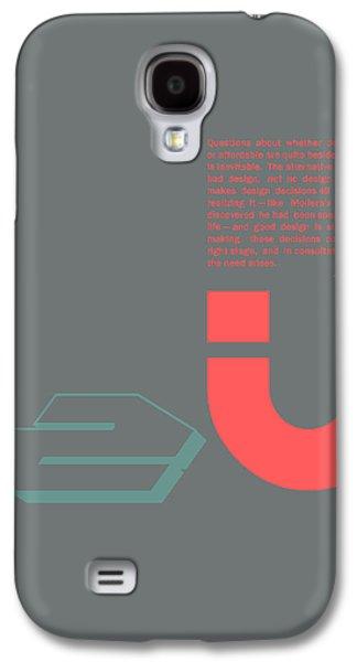 Forms Digital Art Galaxy S4 Cases - Douglas Martin Poster Galaxy S4 Case by Naxart Studio