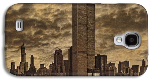 Trade Galaxy S4 Cases - Downtown Manhattan Circa Nineteen Seventy Nine  Galaxy S4 Case by Chris Lord