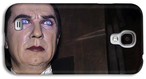 Statue Portrait Galaxy S4 Cases - Dracula Cartoon Galaxy S4 Case by Sophie Vigneault