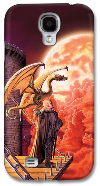 Wizard Photographs Galaxy S4 Cases - Dragon Lord Galaxy S4 Case by The Dragon Chronicles - Robin Ko