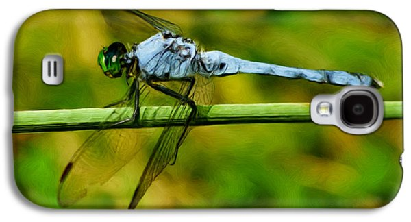Painter Photo Galaxy S4 Cases - Dragonfly Galaxy S4 Case by Jack Zulli