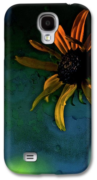 Gold Lime Green Galaxy S4 Cases - Drama Queen Galaxy S4 Case by Bonnie Bruno