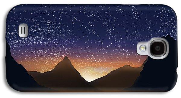 Nature Abstract Galaxy S4 Cases - Dramatic Landscape  Galaxy S4 Case by Setsiri Silapasuwanchai