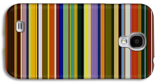 Geometric Design Galaxy S4 Cases - Dreamcoat Designs Galaxy S4 Case by Michelle Calkins