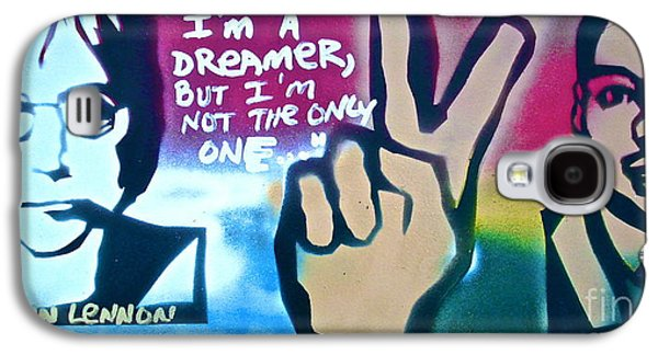 Free Speech Galaxy S4 Cases - Dreamers Galaxy S4 Case by Tony B Conscious
