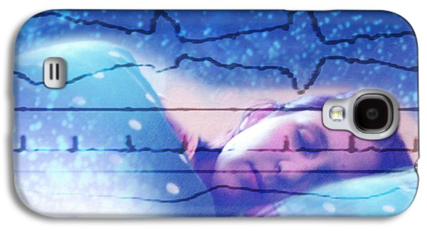 Physiology Galaxy S4 Cases - Dreaming Galaxy S4 Case by Hannah Gal