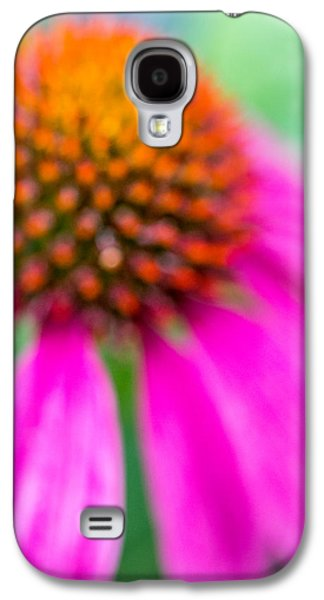 Abstracted Coneflowers Digital Galaxy S4 Cases - Dreamy Abstract Coneflower  Galaxy S4 Case by Susan Stone