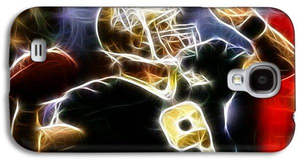 News Mixed Media Galaxy S4 Cases - Drew Brees New Orleans Saints Galaxy S4 Case by Paul Van Scott
