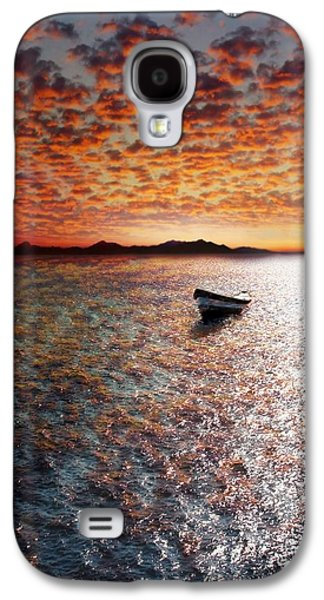 Waterscape Galaxy S4 Cases - Drift Away Galaxy S4 Case by Photodream Art