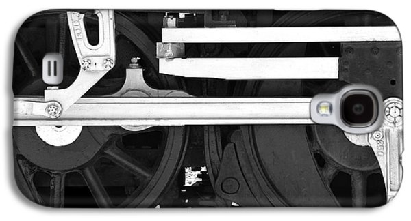 Rail Digital Art Galaxy S4 Cases - Drive Train Galaxy S4 Case by Mike McGlothlen