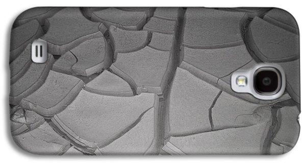 Dry Lake Galaxy S4 Cases - Dry Desert Lake Galaxy S4 Case by Naxart Studio