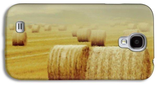 Storm Prints Mixed Media Galaxy S4 Cases - Dust Storm Galaxy S4 Case by Georgiana Romanovna