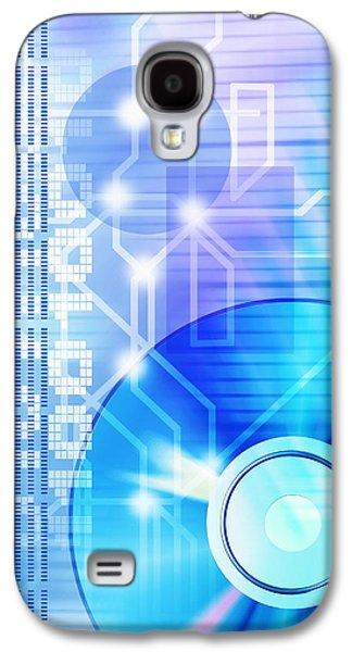 Disc Photographs Galaxy S4 Cases - Dvd Media Galaxy S4 Case by Pasieka
