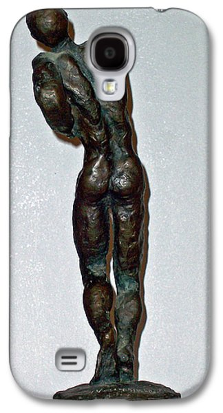 Abstract Movement Sculptures Galaxy S4 Cases - Dying Warrior  Galaxy S4 Case by John Neumann