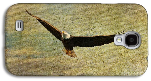 Eagle Mixed Media Galaxy S4 Cases - Eagle Medicine Galaxy S4 Case by Deborah Benoit