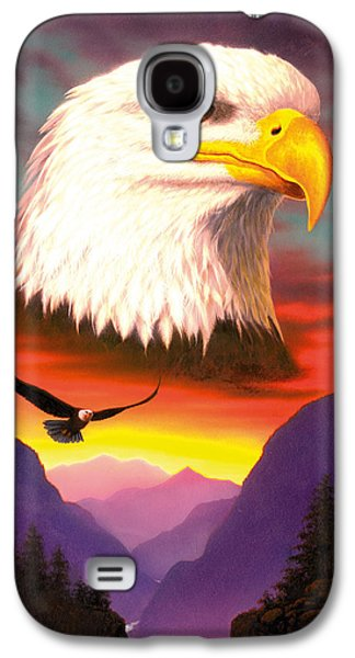 Flying Animal Galaxy S4 Cases - Eagle Galaxy S4 Case by MGL Studio - Chris Hiett