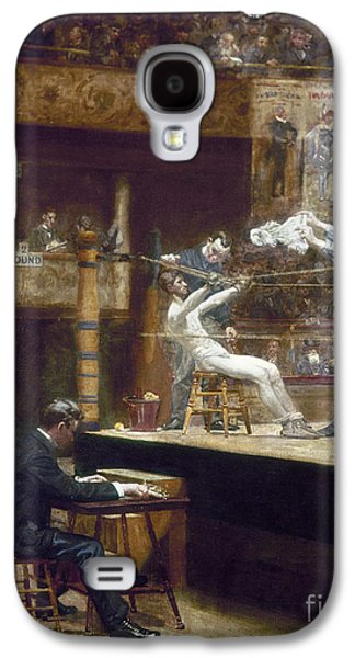 Boxer Galaxy S4 Cases - Eakins: Between Rounds Galaxy S4 Case by Granger