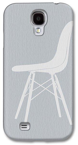 Chair Digital Art Galaxy S4 Cases - Eames Fiberglass Chair Galaxy S4 Case by Naxart Studio