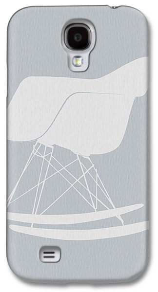 Kids Room Art Galaxy S4 Cases - Eames Rocking Chair Galaxy S4 Case by Naxart Studio