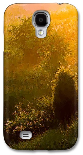 Gloaming Galaxy S4 Cases - Early Gloaming Galaxy S4 Case by Ron Jones