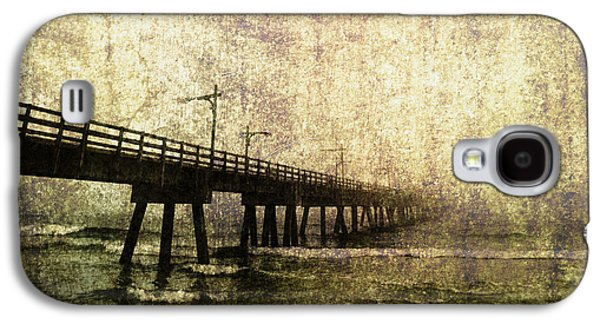 Panama City Beach Galaxy S4 Cases - Early Morning Pier Galaxy S4 Case by Skip Nall