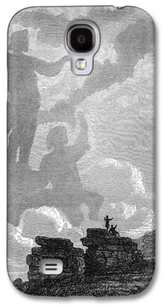 Observer Photographs Galaxy S4 Cases - Early Sighting Of Brocken Spectres, 1797 Galaxy S4 Case by
