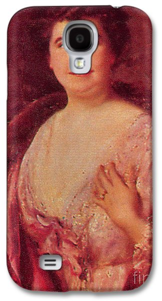 First Lady Galaxy S4 Cases - Edith Wilson Galaxy S4 Case by Photo Researchers