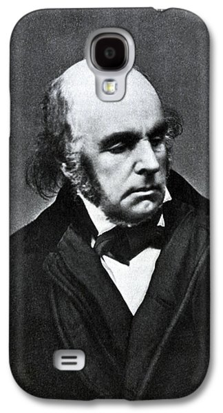 Omar Khayyam Galaxy S4 Cases - Edward Fitzgerald, English Writer Galaxy S4 Case by Humanities And Social Sciences Librarynew York Public Library