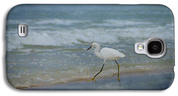Panama City Beach Galaxy S4 Cases - Egret Galaxy S4 Case by Sandy Keeton
