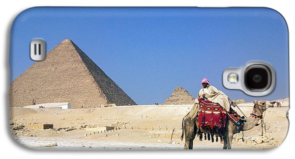 Pyramids Greeting Cards Galaxy S4 Cases - Egypt - Pyramid Galaxy S4 Case by Munir Alawi
