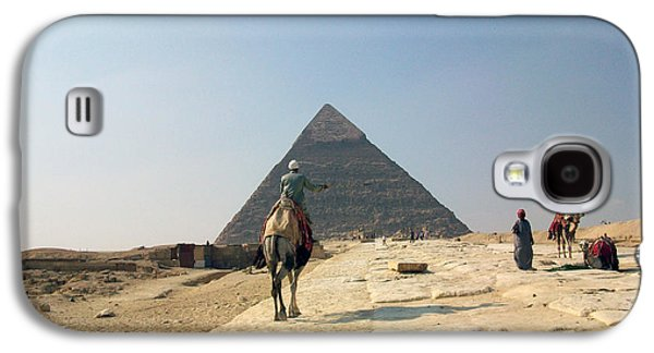 Pyramids Greeting Cards Galaxy S4 Cases - Egypt - Pyramid3 Galaxy S4 Case by Munir Alawi