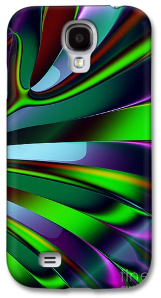 Algorithmic Digital Art Galaxy S4 Cases - Eichler Is Lost . S9 Galaxy S4 Case by Wingsdomain Art and Photography