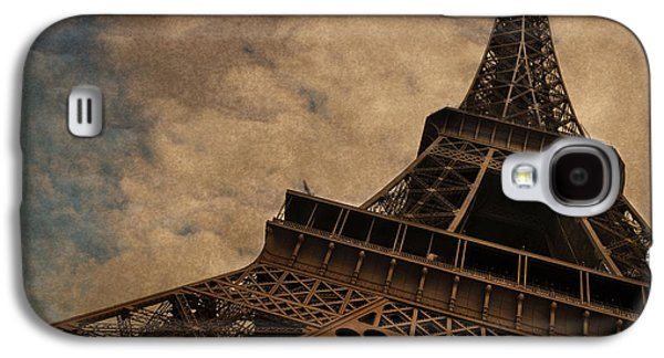 Tower Galaxy S4 Cases - Eiffel Tower 2 Galaxy S4 Case by Mary Machare