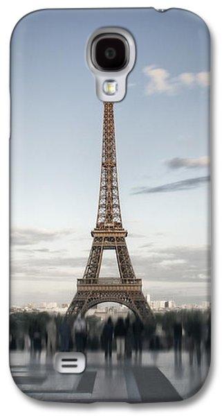 Abstract Sights Digital Galaxy S4 Cases - Eiffel Tower PARIS Galaxy S4 Case by Melanie Viola