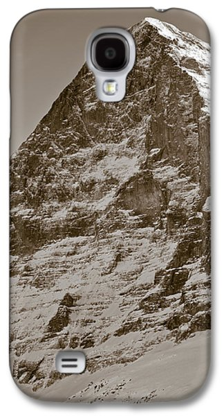 Climbing Galaxy S4 Cases - Eiger North Face Galaxy S4 Case by Frank Tschakert