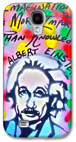Einstein Imagination Galaxy S4 Case by Tony B Conscious