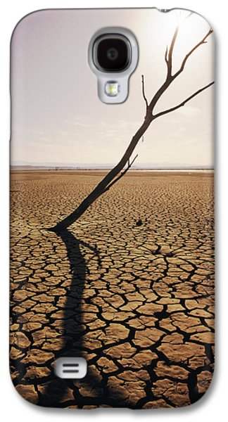 Mud Season Galaxy S4 Cases - El Mirage Snag Galaxy S4 Case by Larry Dale Gordon - Printscapes